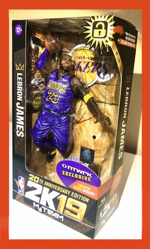 Lebron James LA Lakers NBA McFarlane Toys Rare Exclusive Figure for Sale in Artesia, CA