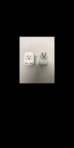 New. Tessan Travel Adapter, USA to Europe, 2 Pack for Sale in Corona, CA