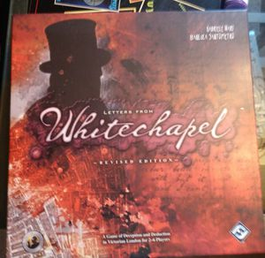 Letters from Whitechapel board game for Sale in Parma, OH