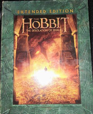 EXTENDED EDITION The Hobbit the desolation of smaug for Sale in Peoria, IL