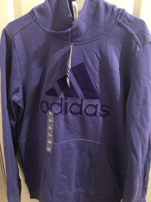 Adidas Women's Logo Hoody for women's size L for Sale in Chula Vista, CA
