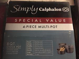 Multi pot , stock pot/ steamer for Sale in Las Vegas, NV