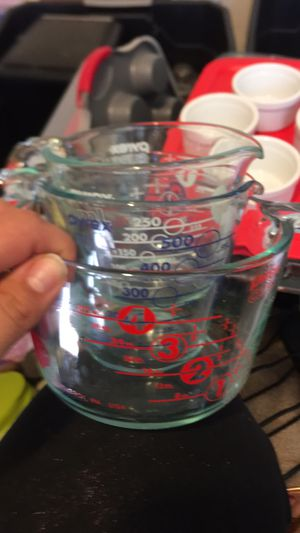 Pyrex measuring cups for Sale in Palmdale, CA