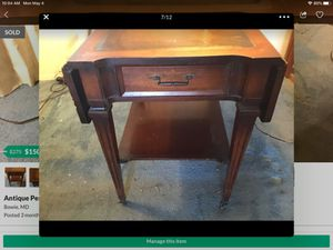 Antique Pembroke Table for Sale in Bowie, MD