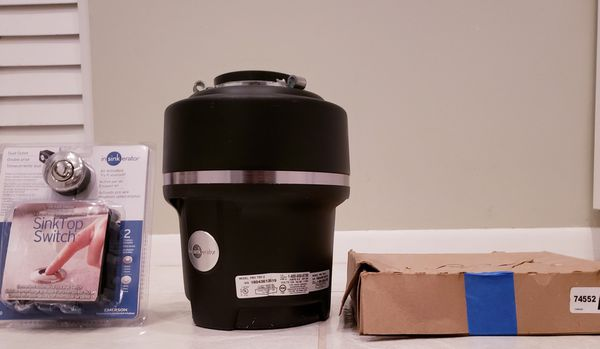 Food Waste / Garbage Disposal and Air Switch