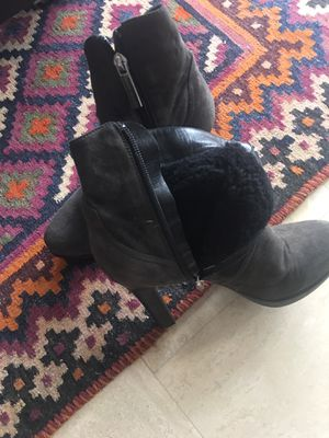 Luciano padovan suede boots with plateau 40 for Sale in North Miami Beach, FL
