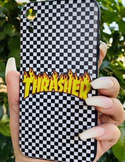 Brand new cool iphone XR case cover silicone rubber Thrasher Skateboards for Sale in San Bernardino,  CA