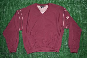 3946a44dca Vintage Nike Golf Maroon Pullover Windbreaker Size Medium Small for Sale in  Stockton