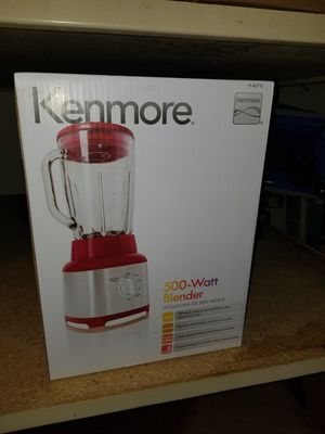 Brand new nice red blender MSRP $60 for Sale in Shelby charter Township, MI