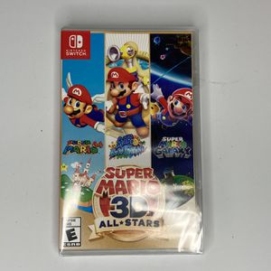 Super Mario 3D All Stars Nintendo Switch Sealed for Sale in Long Beach, CA
