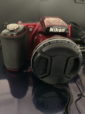 Nikon COOLPIX L830 16MP Red for Sale in Middletown, CT