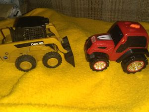 A John Deere mini front in loader & a road rippers tractor! for Sale in Culloden, WV