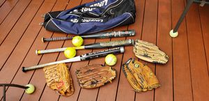Great Items - Men's Softball Bats & Gloves for Sale in Skokie, IL