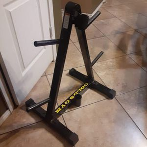 Weight tree With Bar Holder for Sale in Fort Worth, TX