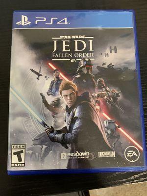 Star Wars Jedi fallen order ps4 for Sale in Tuscaloosa, AL