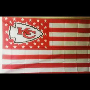 chiefs flag 3x5ft new for Sale in Victorville, CA