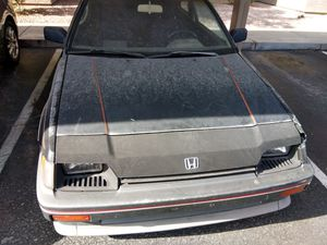1985 Honda CRX Si Parting out una. Drives good motor Jonson away bars Acura first gen clutch cUstom throut bearing, one owner for Sale in Gilbert, AZ