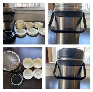 Tiffin box - keep food warm for Sale in Alpharetta, GA