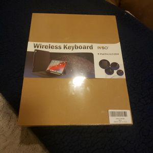 IVSO Wireless Keyboard for Ipad for Sale in San Leandro, CA