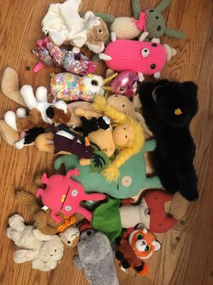 Stuffed animals and toys for Sale in WA, US