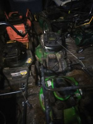 5 to 10 Used Lawn mower some working / some not for Sale in Washington, DC
