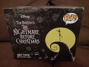 Nightmare Before Christmas Hot Top Mystery Box Funko Pop Sealed! for Sale in Sugarloaf, PA