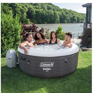 Almost New 2020 Coleman Bestway Saluspa Cali EnergySense Liner Inflatable Hot Tub Spa for Sale in Pico Rivera, CA
