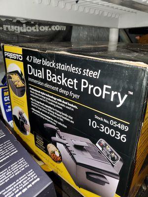 Presto dual basket fryer for Sale in St. Louis, MO