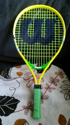 Kids Sponge Bob Wilson tennis racket for Sale in Redondo Beach, CA