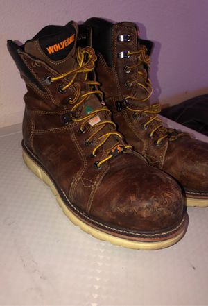 wolverine work boots size 10.5 for Sale in Phoenix, AZ