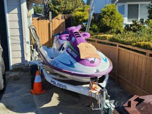 96 polaris 780SLT with trailer. for Sale in Pinole, CA
