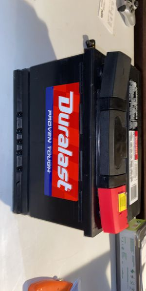 Duralast car battery part #H6-DL for Sale in Seattle, WA