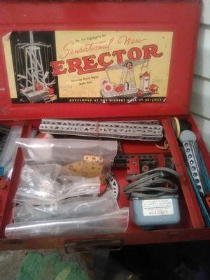 Complete 1940 Erector. Engineer set for Sale in Kolin, LA