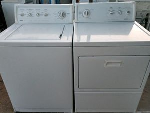 """KENMORE"" MATCHING SET WASHER AND ELECTRIC DRYER HEAVY DUTY SYSTEM SUPER CAPACITY PLUS 3.8 cu ft for Sale in Phoenix, AZ"