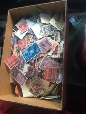 Bag of 2,000 old stamp for Sale in Fairfax, VA