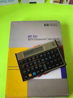 HP 12C RPN FINANCIAL CALCULATOR (open box brand new) for Sale in South Miami, FL