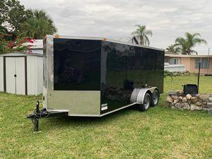 Trailer 2019 16 x 8 con frenos for Sale in Cutler Bay, FL