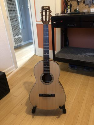Cort L100P parlor small body 12 fret acoustic guitar for Sale in Portland, OR