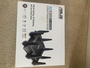 ASUS AC-5300 Router with Repeater for Sale in Akron, OH