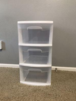 Plastic 3-Drawer Organizer for Sale in Auburn, WA