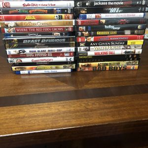 30 Assorted Dvd's for Sale in Leominster, MA