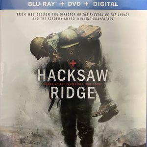 Hacksaw Ridge (Blu Ray And DVD Combo, 2016) for Sale in Adelanto, CA