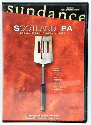 Scotland, PA (DVD, 2002) Sundance Christopher Walken Maura Tierney James LeGros for Sale in Harrisonburg, VA
