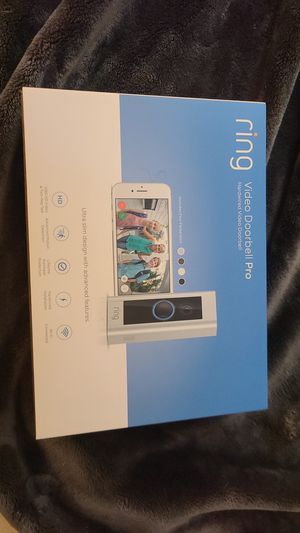 Ring video doorbell pro for Sale in Woodstock, GA