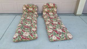 Chaise Lounge Patio Furniture Chair Cushions for Sale in Patterson, CA