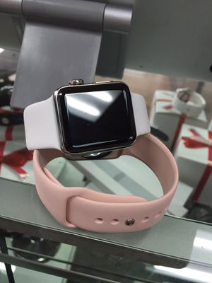 PRICE DROPPED ON APPLE WATCH SERIES 1 WITH CHARGER AND WARRANTY! for Sale in Columbus, OH