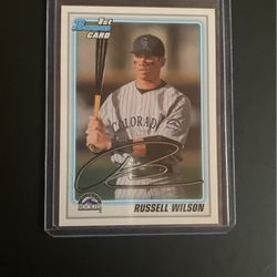 Russle Wilson Rookie Baseball Card for Sale in Edmonds,  WA