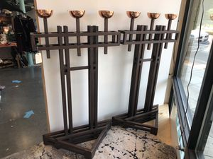 Vintage mid century modern gothic huge candelabras for Sale in Tigard, OR