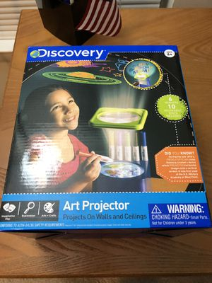 Discovery art projector for Sale in Gaithersburg, MD
