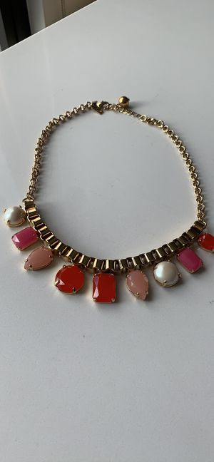 Kate Spade Gold Multi-Stone Collar necklace for Sale in Washington, DC
